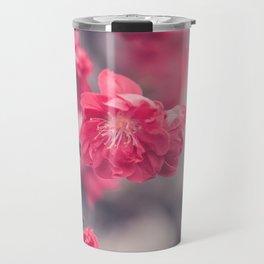 Pink Peach Blossoms Travel Mug