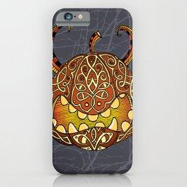 Celtic Halloween pumpkin iPhone Case