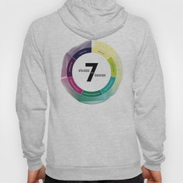 7 Stages of Design Hoody