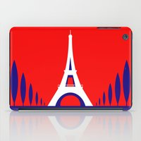 france iPad Cases featuring FRANCE by Marcus Wild