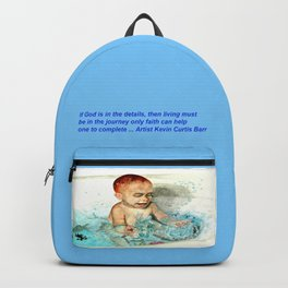 A CHILD AT PLAY Backpack