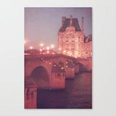 Paris Night II  Canvas Print