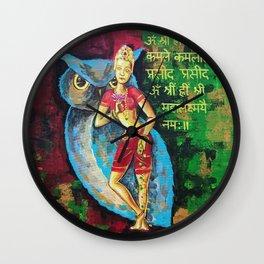 Maha Lakshmi Wall Clock