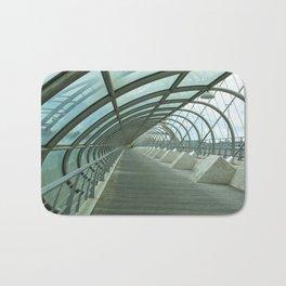 Third millenium bridge,in feature town Zaragoza Bath Mat