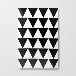 Original geometric design by Dominic Joyce Metal Print