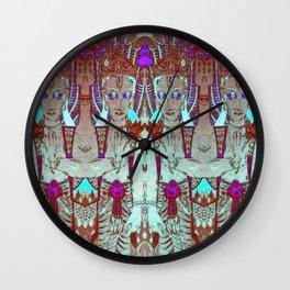 VISHNU-RED Wall Clock