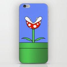 Minimalist Piranha Plant iPhone & iPod Skin