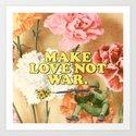 Make Love Not War by juliawalck