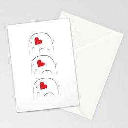 Japanese Elephant 2 Stationery Cards