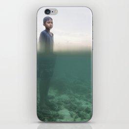 fisher boy iPhone Skin
