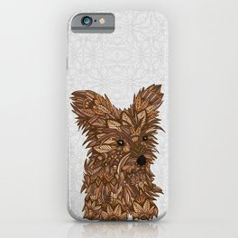 Cute Yorkie iPhone Case