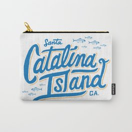 Catalina Island White  Carry-All Pouch