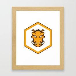 grunt js Task runner Developer grunt Stickers Framed Art Print
