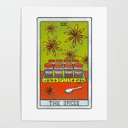 The Spices |Baker's Tarot Poster