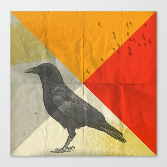 angle of a ravin Canvas Print