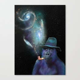 Cosmic Toker Canvas Print