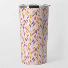 Falling Autumn Leaves Travel Mug