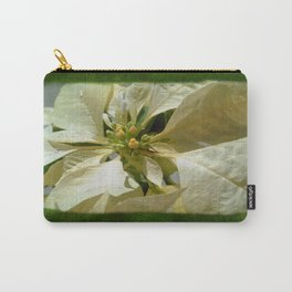 Pale Yellow Poinsettia 1 Blank P1F0 Carry-All Pouch