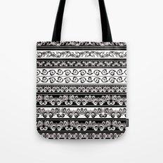 Lace Boarder Tote Bag