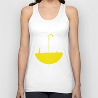 how i met your mother Tank Tops featuring Yellow umbrella by Beitebe