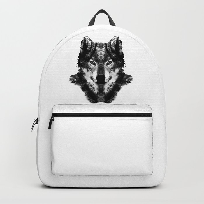 The Black Forest Wolf Backpack