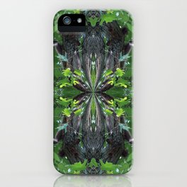 Nature's Twists # 17 iPhone Case