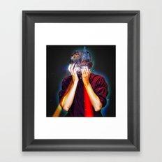 I´m a monster and brilliant Framed Art Print