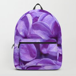 Purple Lilacs by Teresa Thompson Backpack