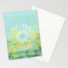 Sunflowers Dream Stationery Cards