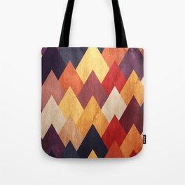 Eccentric Mountains Tote Bag