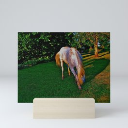 Equine Bowing Mini Art Print