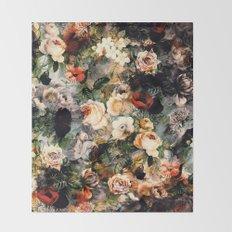 Floral Pattern RPE120 Throw Blanket
