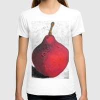 sansa stark T-shirts featuring Stark Crimson by Suzy Kitman Fine Art