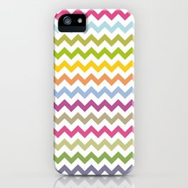 art colour lines triangle look rest eyes color new artist fun mixed pattern sweet cover case skin ip iPhone Case