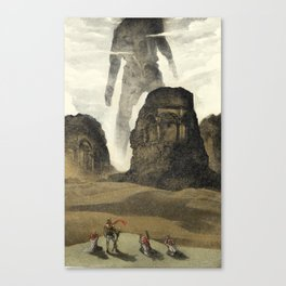 The Old gods Canvas Print