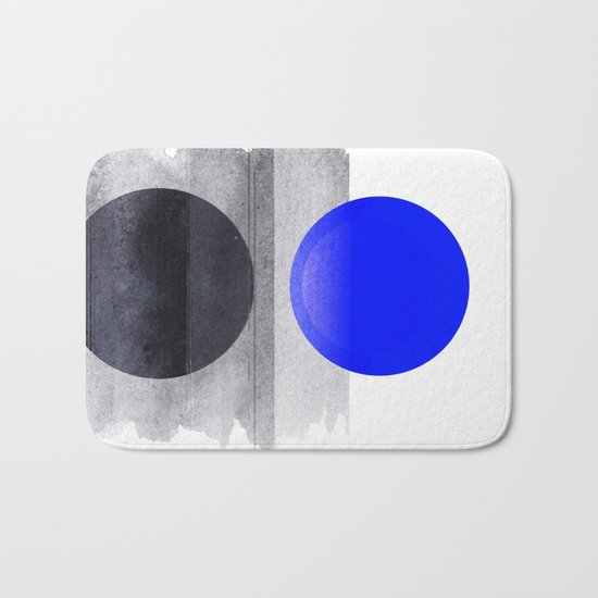 Blue #Planet Bath Mat
