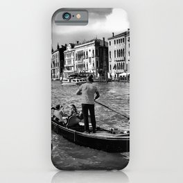 Gondola on the Grand Canal, Venice iPhone Case