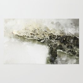 Scaly Swimmer Rug