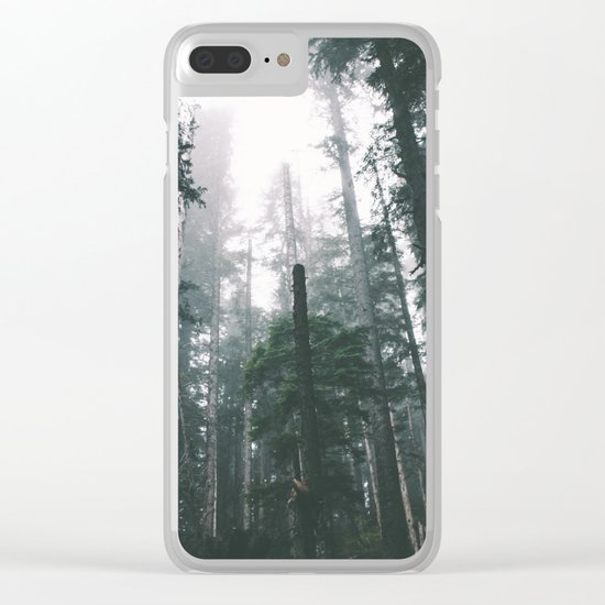 Forest XVIII Clear iPhone Case