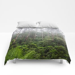 Forest and Fog Comforters