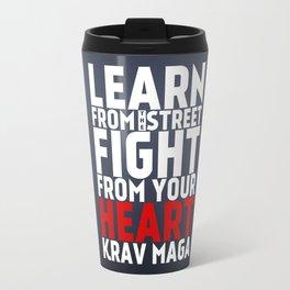 Learn from the Street Krav Maga Travel Mug