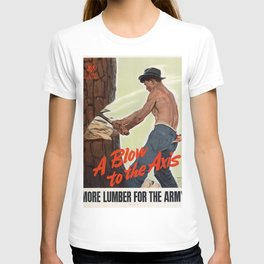 A Blow to the Axis T-shirt