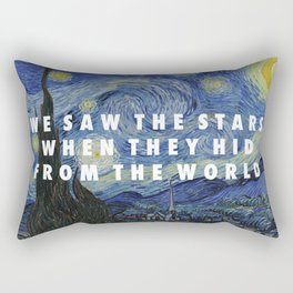 Starry Step Rectangular Pillow