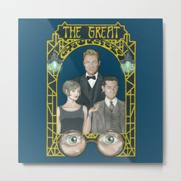 Gatsby Metal Print