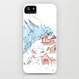 Hallstatt Austria iPhone Case