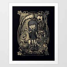 In The Darkness Art Print