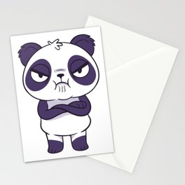 Mad Panda Panda Bear Stationery Cards