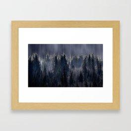Forest blend Framed Art Print