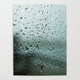 Rain on the Harbour Poster
