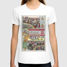 Ringling Brothers Circus Carnival Poster (1899) T-shirt